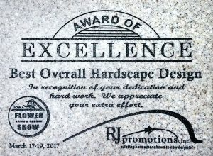 Award Of Excellence Best Hardscape Design 2017